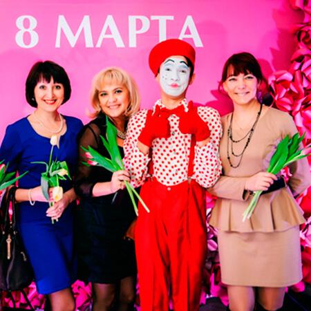Корпоратив на 8 марта в Казани