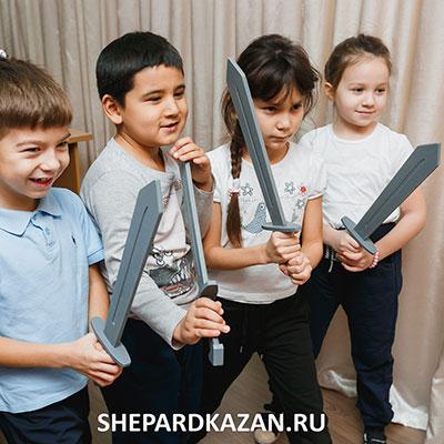 Квест детский Богатыри