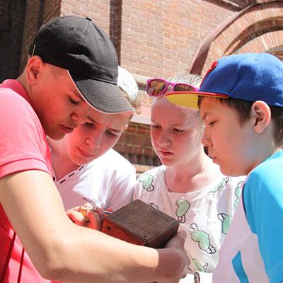 городской квест для детей в Казани