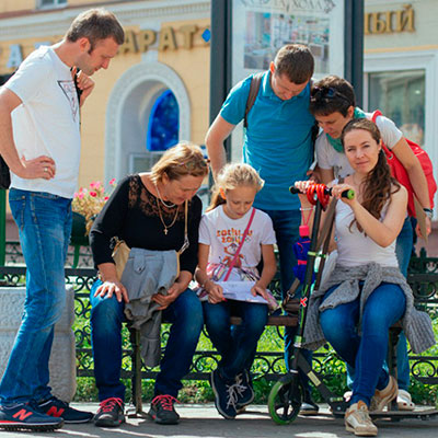 Городской квест экскурсия по Казани