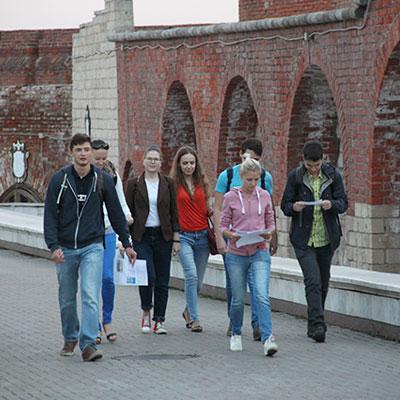 Городской квест экскурсия в Казани