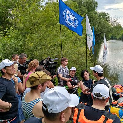 Сплав по реке Юшут