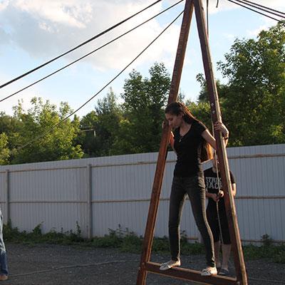 Тренинг Верёвочный курс
