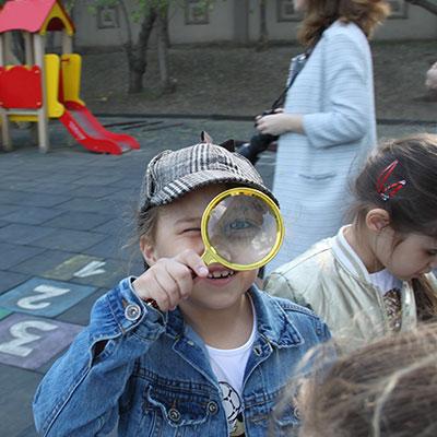 Детский детективный квест Шерлок Холмс